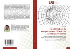 Buchcover von Modélisation du comportement différé des cavités souterraines