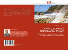 Обложка LA PROTECTION DE LA DENOMINATION SOCIALE
