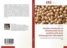 Обложка Analyse structurale et fonctionnelle d'une protéine LEA (Late Embryogenesis Abundant)
