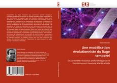 Capa do livro de Une modélisation évolutionniste du liage temporel