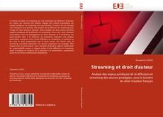 Обложка Streaming et droit d''auteur