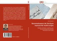 Bookcover of Reconnaissance de l''écriture manuscrite multi-scripts