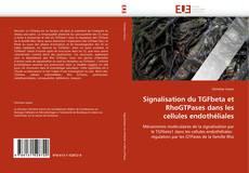 Bookcover of Signalisation du TGFbeta et RhoGTPases dans les cellules endothéliales