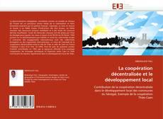 Portada del libro de La coopération décentralisée et le développement local