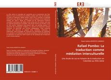 Capa do livro de Rafael Pombo: La traduction comme médiation interculturelle
