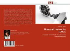 Capa do livro de Finance et cinéma: les SOFICA