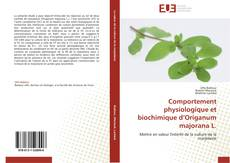 Copertina di Comportement physiologique et biochimique d'Origanum majorana L.