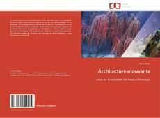 Couverture de Architecture mouvante