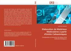 Couverture de Elaboration de Matériaux Moléculaires à partir d'Unités Calixaréniques