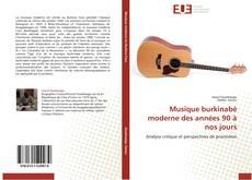 Borítókép a  Musique burkinabè moderne des années 90 à nos jours - hoz