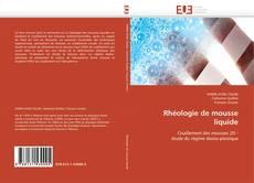 Обложка Rhéologie de mousse liquide