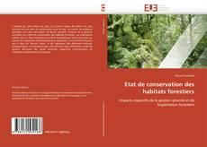 Etat de conservation des habitats forestiers的封面