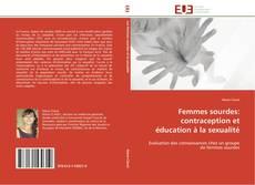 Bookcover of Femmes sourdes: contraception et éducation à la sexualité