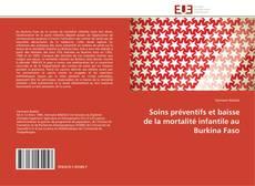 Portada del libro de Soins préventifs et baisse de la mortalité infantile au Burkina Faso