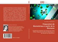 Portada del libro de Préparation de Biomatériaux à partir de la Biomasse
