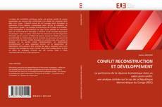 CONFLIT RECONSTRUCTION ET DÉVELOPPEMENT kitap kapağı
