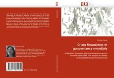 Couverture de Crises financières et gouvernance mondiale
