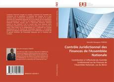 Portada del libro de Contrôle Juridictionnel des Finances de l'Assemblée Nationale