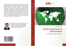 Couverture de Choix contractuels et performances