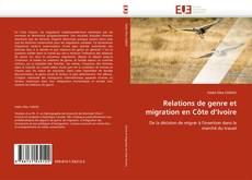 Capa do livro de Relations de genre et migration en Côte d'Ivoire