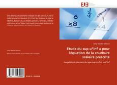 Borítókép a  Etude du sup u*inf u pour l''équation de la courbure scalaire prescrite - hoz