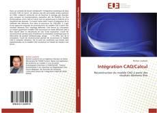 Обложка Intégration CAO/Calcul