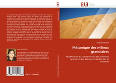 Mécanique des milieux granulaires kitap kapağı