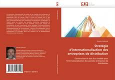 Portada del libro de Stratégie d'internationalisation des entreprises de distribution