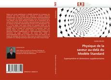 Capa do livro de Physique de la saveur au-delà du Modèle Standard