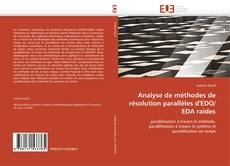 Analyse de méthodes de résolution parallèles d'EDO/EDA raides kitap kapağı