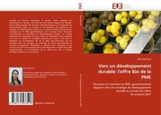 Couverture de Vers un développement durable: l''offre Bio de la PME