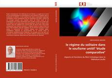 """Couverture de le régime du solitaire dans le soufisme unitif """"étude comparative"""""""