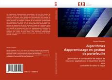 Copertina di Algorithmes d''apprentissage en gestion de portefeuille
