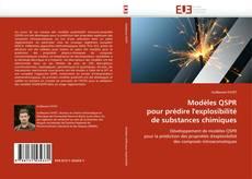 Portada del libro de Modèles QSPR pour prédire l''explosibilité de substances chimiques
