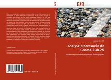 Couverture de Analyse processuelle de Genèse 2:4b-25