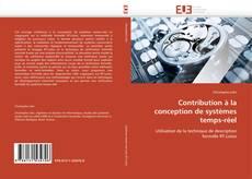 Couverture de Contribution à la conception de systèmes temps-réel