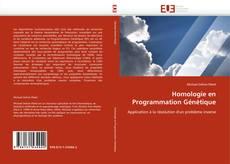 Couverture de Homologie en Programmation Génétique