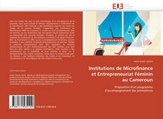 Capa do livro de Institutions de Microfinance et Entrepreneuriat Féminin au Cameroun