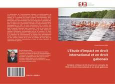 Bookcover of L'Etude d'impact en droit international et en droit gabonais