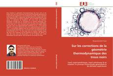 Bookcover of Sur les corrections de la géométrie thermodynamique des trous noirs