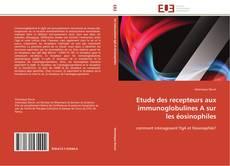 Copertina di Etude des recepteurs aux immunoglobulines A sur les éosinophiles