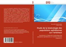 Bookcover of Etude de la bioécologie des populations aphidiennes sur l''artichaut