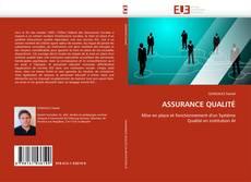 ASSURANCE QUALITÉ kitap kapağı
