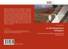 Couverture de Le développement endogène
