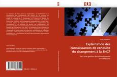 Couverture de Explicitation des connaissances de conduite du changement à la SNCF