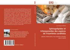 Buchcover von Sphingolipides et triterpenoides des espèces de Triumfetta cordifolia