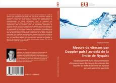 Bookcover of Mesure de vitesses par Doppler pulsé au-delà de la limite de Nyquist