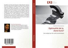 Bookcover of Optimalité de la   Zone Euro?