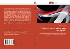 Français parlés et français enseignés kitap kapağı