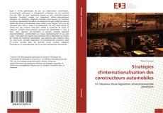 Bookcover of Stratégies d'internationalisation des constructeurs automobiles